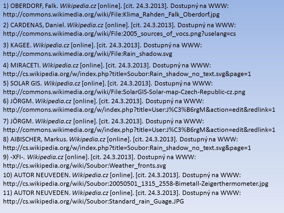 1) OBERDORF, Falk. Wikipedia. cz [online]. [cit. 24. 3. 2013]